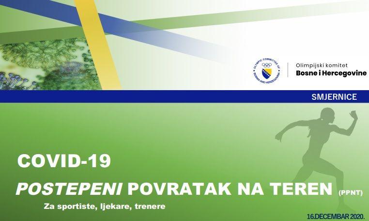 Zdravstvena komisija Olimpijskog komiteta BiH preporučila smjernice za oporavak sportaša nakon Covid-19