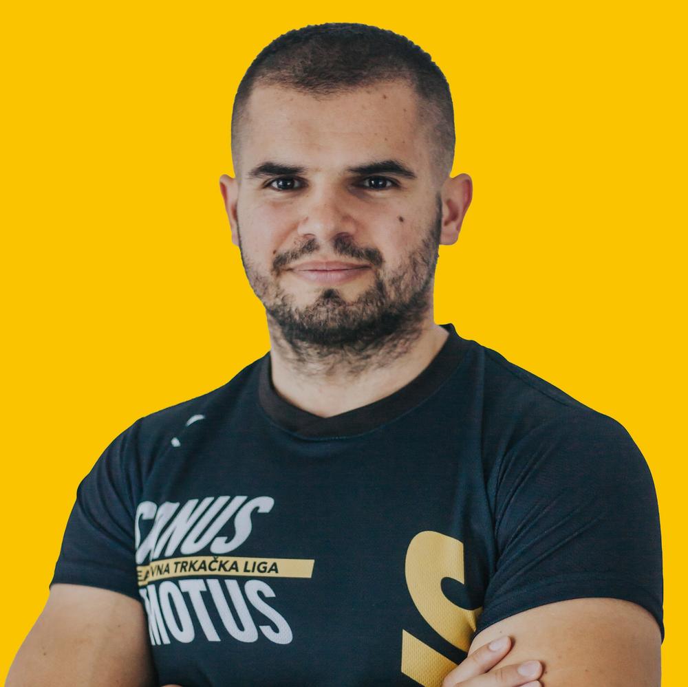 Zoran Bilić, tajnik udruge, trener