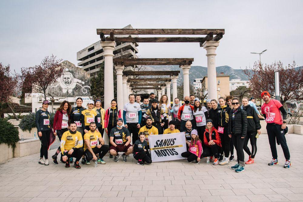 Mostar polumaraton 2021: 100 polumaratonaca Sanus Motus od osnivanja škole trčanja; Zoe Hamel ostvarila vrhunski rezultat, vrijedan postolja